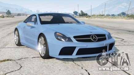 Mercedes-Benz SL 65 AMG Black Series (R230) 2008〡add-on v2.0 pour GTA 5