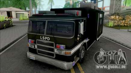 Swat Team Truck Container pour GTA San Andreas
