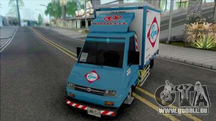 Sweeper Minitruck für GTA San Andreas