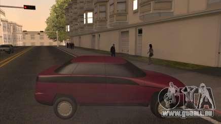 Moskwitsch Yauza für GTA San Andreas