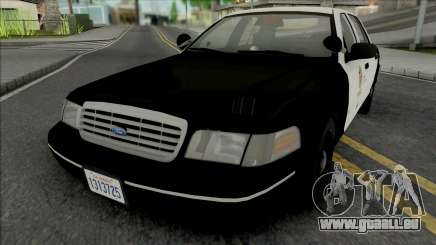 Ford Crown Victoria 1998 CVPI LAPD GND pour GTA San Andreas