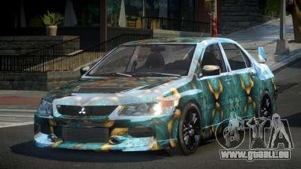 Mitsubishi Evo IX BS-U S6 für GTA 4