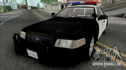 Ford Crown Victoria 2011 CVPI LAPD v2 pour GTA San Andreas