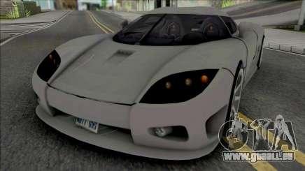 Koenigsegg CCX v2 für GTA San Andreas