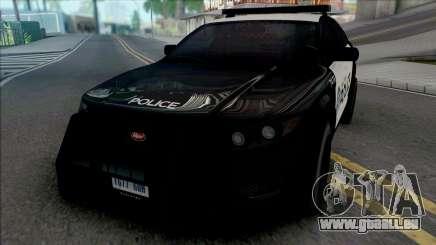 Vapid Torrence Police San Fierro v2 für GTA San Andreas