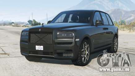Rolls-Royce Cullinan Black Badge 2020〡add-on pour GTA 5