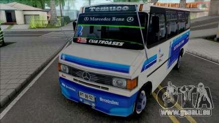 Mercedes-Benz LO-814 Cuatro Ases Leyenda v2 für GTA San Andreas