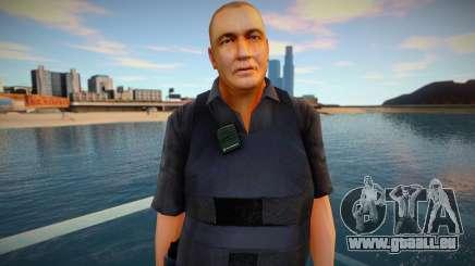 Policier vêtus d'un gilet pare-balles pour GTA San Andreas