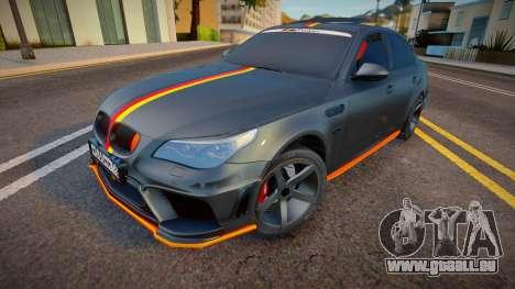 BMW M5e60 Deutisch Kamo pour GTA San Andreas