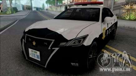 Toyota Crown Athlete 2016 Patrol Car für GTA San Andreas