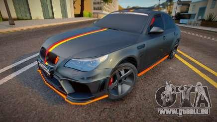 BMW M5e60 Deutisch Kamo für GTA San Andreas