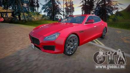 2018 Maserati Quattroporte (Low Poly) für GTA San Andreas