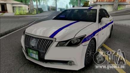 Toyota Crown Majesta 2014 Private Taxi für GTA San Andreas