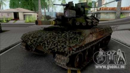 M511 Sheridan from Mercenaries 2: World in Flame für GTA San Andreas