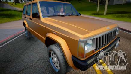 Jeep Grand Cherokee 1998 (Low Poly) für GTA San Andreas
