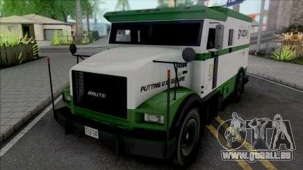 GTA V Brute Stockade [VehFuncs] für GTA San Andreas