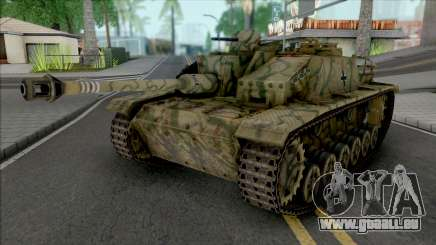 StuG III für GTA San Andreas