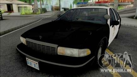 Chevrolet Caprice 1992 LAPD pour GTA San Andreas