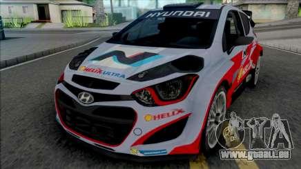 Hyundai i20 WRC [IVF] für GTA San Andreas