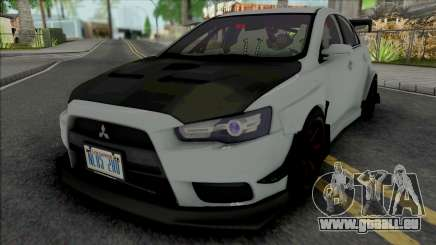 Mitsubishi Lancer Evolution X (Tuning) für GTA San Andreas