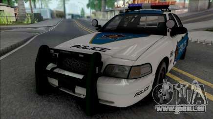 Ford Crown Victoria 2008 Palm City Police für GTA San Andreas