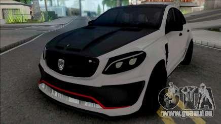 Mercedes-Benz GLE Coupe AMG Lumma pour GTA San Andreas