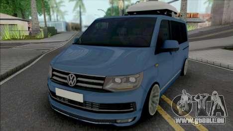 Volkswagen Caravelle [HQ] pour GTA San Andreas
