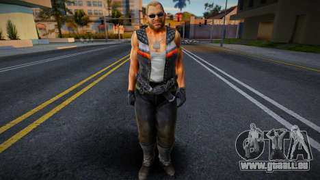 Dead Or Alive 5 - Bass Armstrong (Costume 1) 3 pour GTA San Andreas