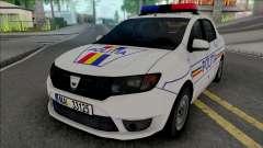 Dacia Logan 2013 Politia pour GTA San Andreas