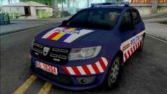 Dacia Sandero 2018 Politia