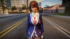 DOAXVV Tsukushi - Autumn School Wear 1 pour GTA San Andreas