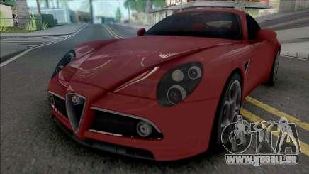 Alfa Romeo 8C Competizione 2007 IVF Style pour GTA San Andreas