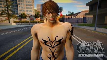 Shin Casual Tekken (Sexy Boy 1) pour GTA San Andreas