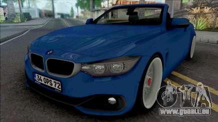 BMW 435i Cabrio (Air) für GTA San Andreas