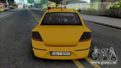 Fiat Linea Taksi (MRT) pour GTA San Andreas