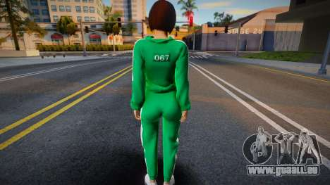 Female Squid Game pour GTA San Andreas