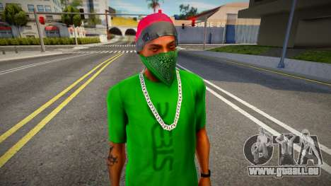 Winter Skully Hat for CJ pour GTA San Andreas
