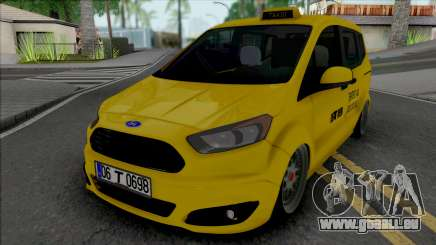 Ford Tourneo Courier Taksi (MRT) für GTA San Andreas