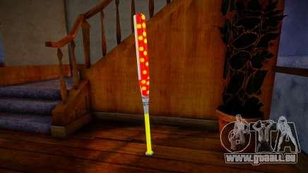 Red baseball bat pour GTA San Andreas
